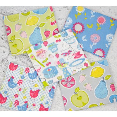 Fat Quarter Set - Country Kitchen