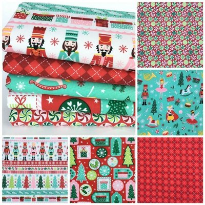 Fat Quarter Set - Nutcracker