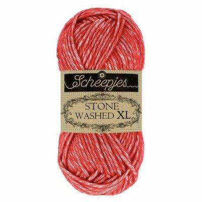Fir bumbac melanj Stone Washed XL - Carnelian 863
