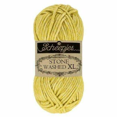 Fir bumbac melanj Stone Washed XL - Lemon Quartz 852