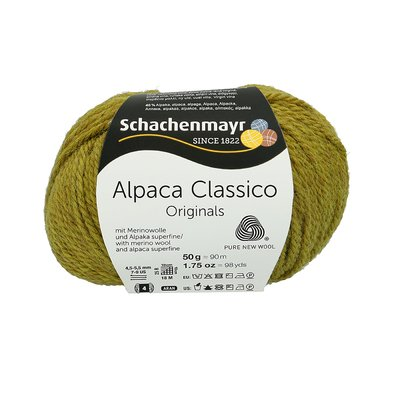 Fir de tricotat Alpaca Classico - Apple Green