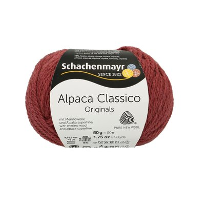 Fir de tricotat Alpaca Classico - Winter Mauve