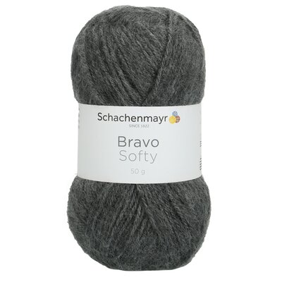 Fire acril Bravo Softy - Grey Heather 08319