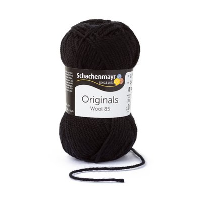Fire Lana Wool85 - Black 00299