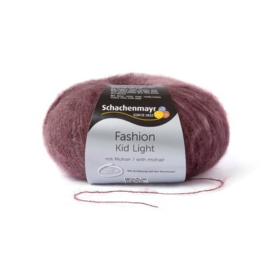 Fire Mohair Kid Light - Marsala Degrade 00083