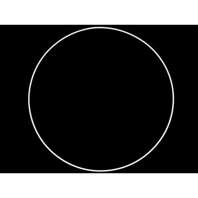 Inel metalic pentru decoratiuni - diametru 40 cm