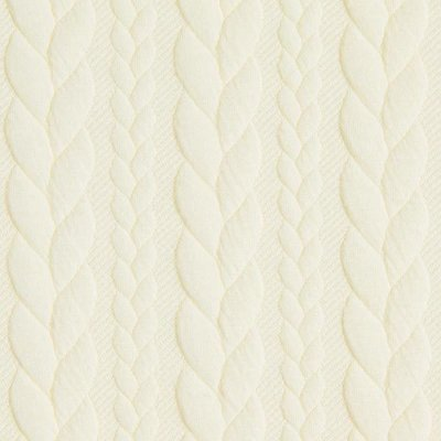 Jacquard Cable Knit - Ivory