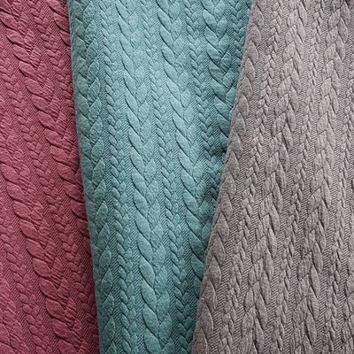 Jacquard Cable Knit - Brique