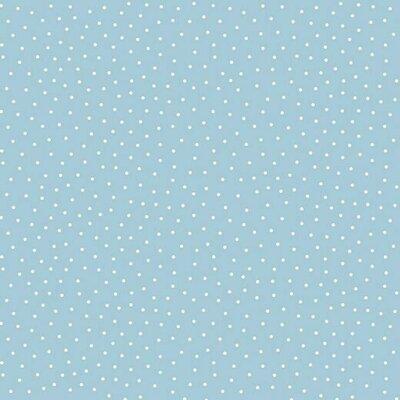 Jerse bumbac - Dotty Light Blue