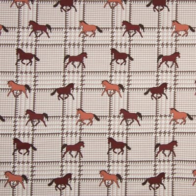 Jerse Bumbac imprimat - Horses Sand