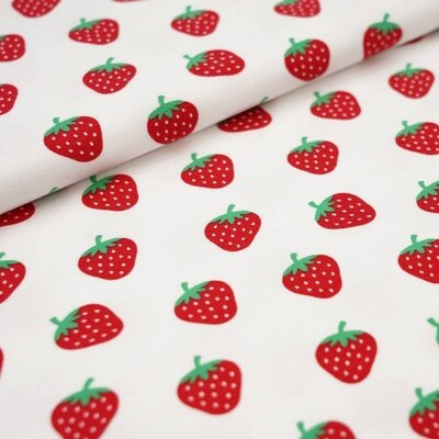 Jerse Bumbac imprimat - Strawberry