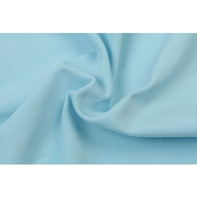 Jerse bumbac organic - Light Blue