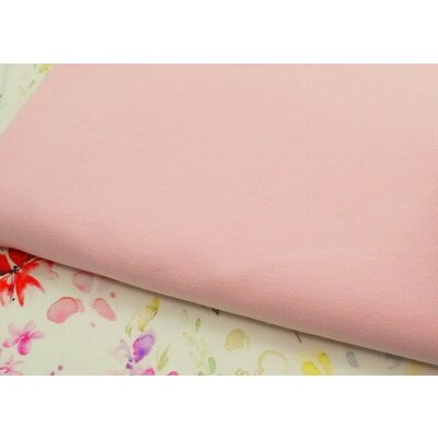 Jerse bumbac organic - Light Rose