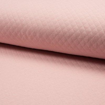 Jerse Matlasat Cotton Diamond - Rose