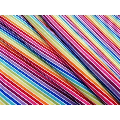 Jerse de bumbac - Multicolor Stripes