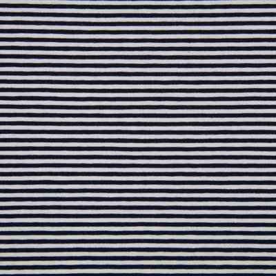Jerse de bumbac - Stripes Navy 0.3 cm