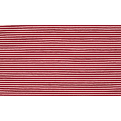 Jerse de bumbac - Stripes Red 0.3 cm