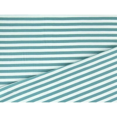 Jerse de bumbac - Yarn Died Stripes Dusty Mint