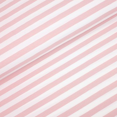 Jerse de bumbac - Yarn Died Stripes Rose