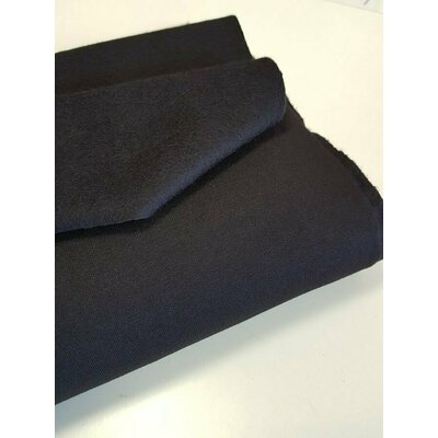 Jerse french terry brushed - Black