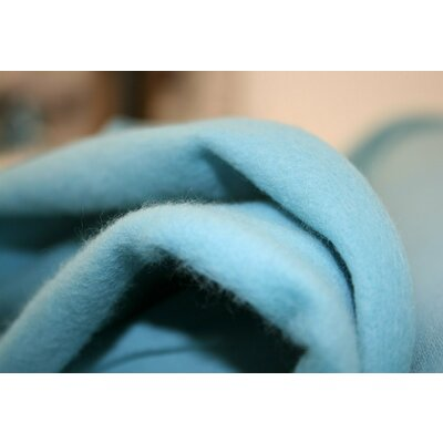 Jerse french terry brushed - Dusty Aqua