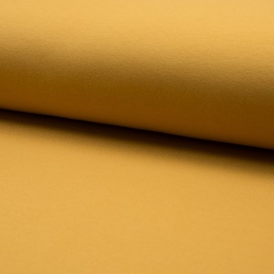 Jerse french terry brushed - Ocre