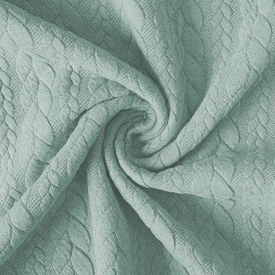 Jerse Jacquard Cable Knit - Light Mint