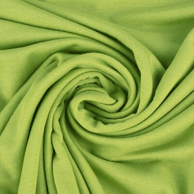 Jerse uni subtire Modal Tencel  - Lime Green