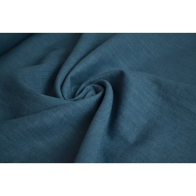 Material 100% In - Linen Enzyme Washed - Blue