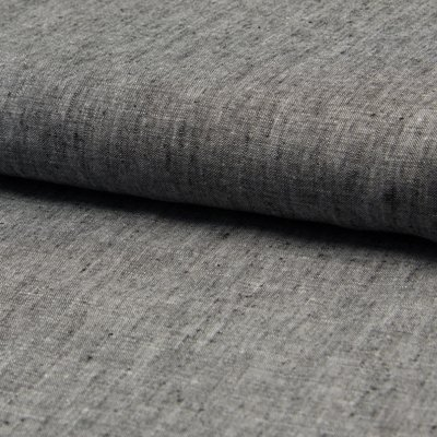 Material 100% In - Linen Georgio Dark Grey