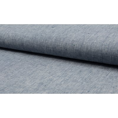 Material 100% In - Linen Georgio Navy