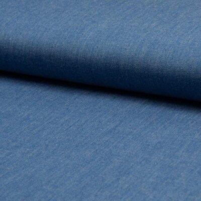 Material bumbac - Chambrai Uni Light Blue