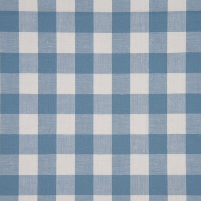 Material bumbac - Gingham Dusty Blue 20mm