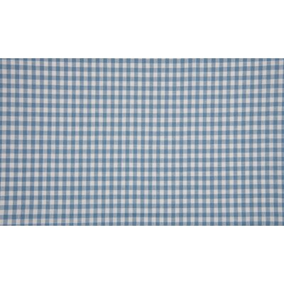 Material bumbac - Gingham Dusty Blue 5mm