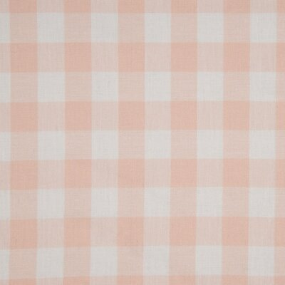 Material bumbac - Gingham Salmon 20mm