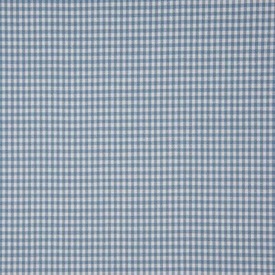 Material bumbac - Mini Gingham Misty Blue 2mm