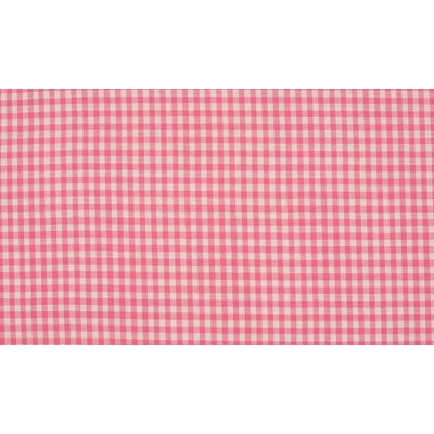 Material bumbac - Small Gingham Rose
