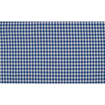 Material bumbac - Small Gingham Royal 5mm