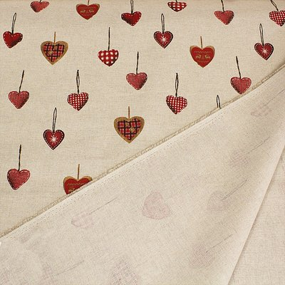 Material Canvas - Deco Hearts