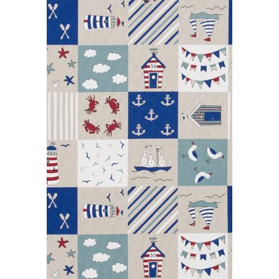 Material Canvas - Maritime Patchwork