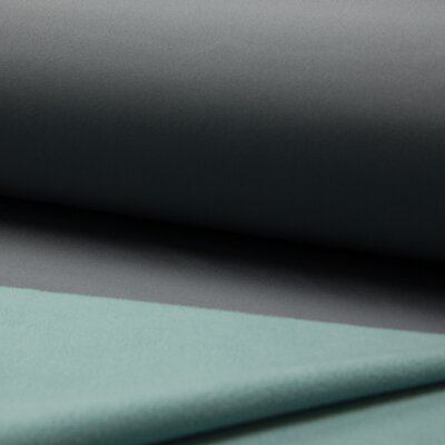 Material cu doua fete Fleece si Soft Shell - Grey/Mint