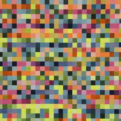 Material decoratiuni si tapiterie - Jaquard Neon Pixel