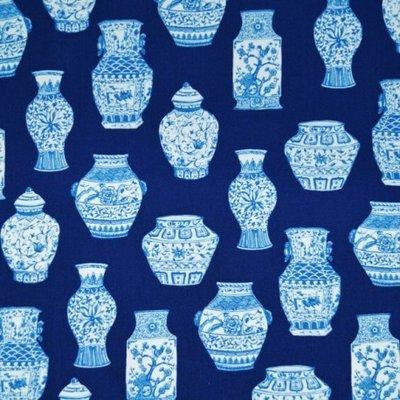 Material designer print - Oriental Deco Vase