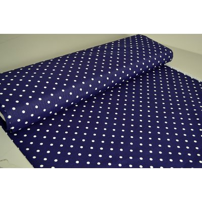 Material Home Decor - Dots Navy