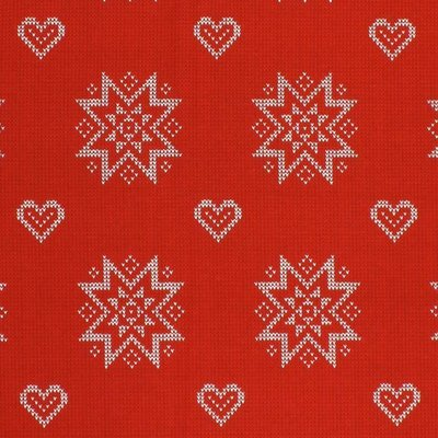 Material Home Decor - Fair Isle Stars