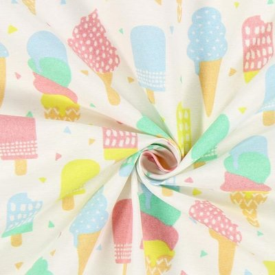 Material Home Decor - Icecream Pastel