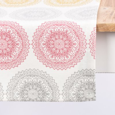 Material Home Decor - Mandala Ornament Cream