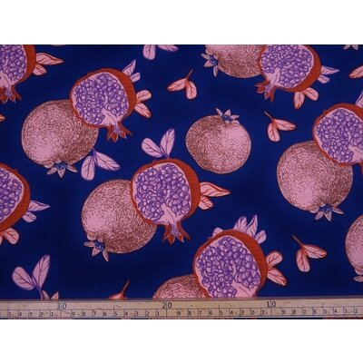 Material Home Decor - Pomegranate Blue