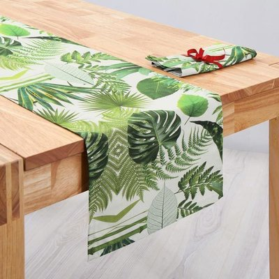 Material Home Decor Premium - Jungle Leaves