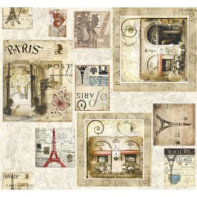 Material Home Decor Premium - Paris Cafe